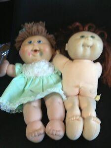 Cabbage Patch Kid Doll 70s Vintage  Original , I X 80s