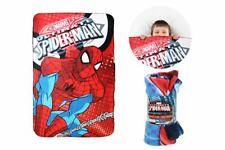 Spiderman Marvel official kid fleece blanket throw ultimate spider-man 100x150cm