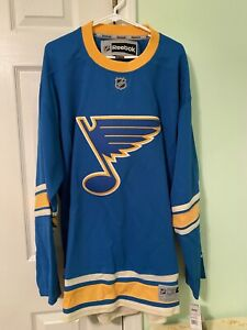 St Louis Blues Reebok Winter Classic Premier Jersey Sweater Brand New With Tags