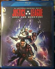 Justice League Gods And Monsters Dvd Only No Blu-Ray Pre-Owned