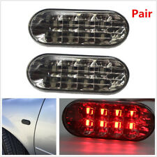 2Pcs 12V Car Red LED Side Marker Light For VW Golf Jetta Bora MK4 Passat B5 B5.5