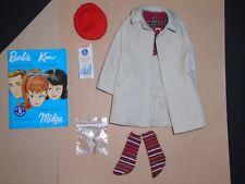VINTAGE KEN / Barbie RALLY DAY Fashion Rain Coat Hat Map Keys Booklet  #788