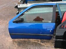 Peugeot 306 HDI XSI XS N/S Passenger side door in blue