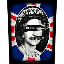 SEX PISTOLS Backpatch back patch GOD SAVE THE QUEEN