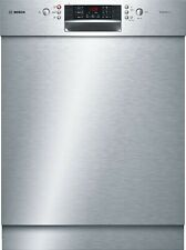 Bosch SMU46CS01E Series 4 Dishwasher 60 cm Base Unit Stainless Steel
