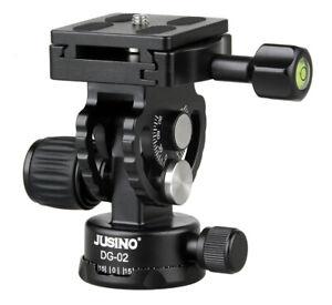 JUSINO Aluminium Neigekopfkopf DG-02 für Einbeinstativ