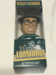 Green Bay Packers Limited Edition Vince Lombardi Bobblehead