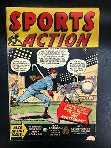 SPORTS ACTION #4 (1951) Marvel Atlas Comics VG/VG+