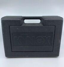 K'Nex Large Black Plastic Storage Case - Parts & Pieces Travel Container Bin Tub