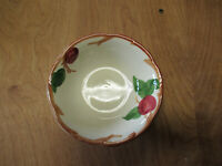 """Franciscan USA APPLE Coupe Cereal Bowl 6"""" design inside     2 available"""