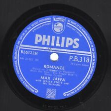 "10"" 78 Jaffa, Max ""Romance"" /""The Last Rose Of Summer"" PHILIPS P.B.318 Magic Bow"