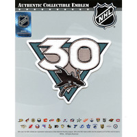 2021 San Jose Sharks Team 30th Anniversary Season Logo Jersey Patch