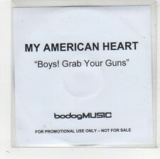 (FW428) My American Heart, Boys! Grab Your Guns - DJ CD