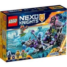 (NEW SEALED) NEXO KNIGHTS LEGO 70349 RUINA'S LOCK & ROLLER KIDS BUILDING BLOCKS