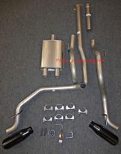 13 - 15 Toyota Tacoma Cat-back Dual Exhaust Side Exit - w/ Big Max Turbo Muffler