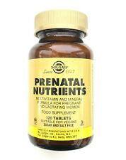 Solgar Prenatal Nutrients - 120 Tablets for Pregnant and Lactating Woman