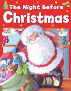 The Night Before Christmas Story Book. Childrens Classic Christmas Reading Gift