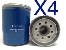 4X Oil Filter Suits Z547 Honda Accord Civic CRV Jazz Odyssey, Nissan, Infiniti