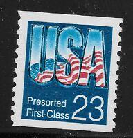 US Scott #2607, Single 1992 USA 23c VF MNH