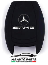 cover guscio telecomando key shell chiave mercedes classe a b c e s AMG silicone