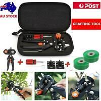 Garden Grafting Tool Set Kit Fruit Tree Pro Pruning Shears Scissor Cutting Tool