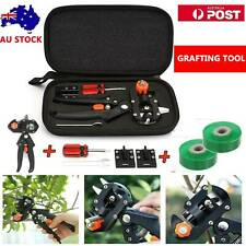 Garden Grafting Tool Set Kit Fruit Tree Pro Pruning Shears Scissor Cutting Tool