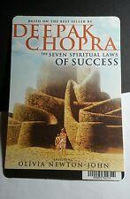 DEEPAK CHOPRA SEVEN SPIRITUAL LAWS SUCCES MINI POSTER BACKER CARD (NOT A movie )