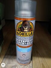 Gorilla Waterproof Patch Amp Seal Liquid Rubber Spray Sealant Clear 14 Oz