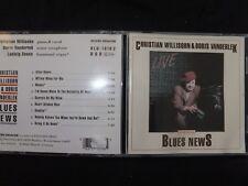 CD CHRISTIAN WILLISOHN & BORS VANDERLEK / BLUES NEWS /