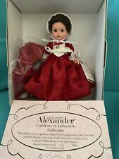 Madame Alexander 2003  Colonial Williamsburg Catherine #33890 COA 19/1500