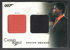 JAMES BOND IN MOTION (Rittenhouse) DUAL COSTUME CARD #DC07 STEVEN (#1141/1250)