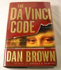 The Da Vinci Code by Dan Brown - SIGNED - 1st Edition 1st Printing (B71)