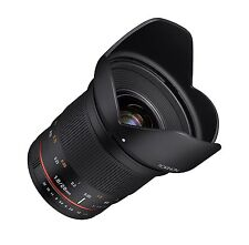 Rokinon 20mm F1.8 AS ED UMC Wide Angle Lens for Nikon - RK20MAF-N