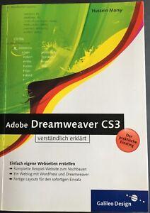 Adobe Dreamweaver CS3 verständlich erklärt von Hussein Morsy (2008, Taschenbuch)