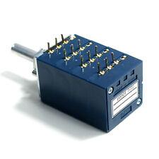 ALPS RK27 4-fach Poti 10K logarithmisch Amplifier Audio Potentiometer Round