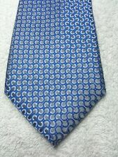 APT 9 MENS TIE BLUE AND GRAY 3.5 X 59 NWOT