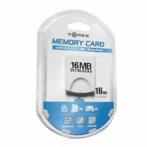 Nintendo Wii Gamecube 16 MB memory card