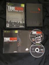 XBOX : TRUE CRIME : NEW YORK CITY - COLLECTOR' S EDITION - Completo, ITA !