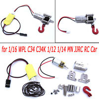 Metal Winch Capstan Control Wire for 1/16 WPL C34 C34K 1/12 1/14 MN JJRC RC Car