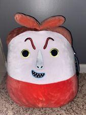 "Squishmallow 14"" Lock Nightmare Before Christmas Plush BNWT Disney NBC"