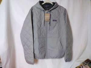 """Patagonia Men's Diamond Quilted Bomber Hoody 27610 LG-42-44"""" Chest  Reg $169.00"""