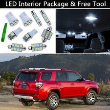 12PCS White LED Interior Car Lights Package kit Fit 2003-2014 Toyota 4Runner J1