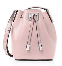 Michael Kors Miranda Medium Bucket Bag Leather Crossbody ~Cameo Pink~ NWT