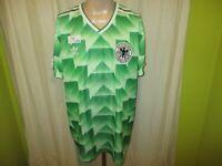 """Deutschland """"DFB"""" Original Adidas Retro Auswärts WM Sieger Trikot 1990 Gr.XXL"""