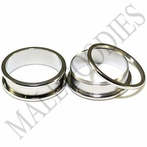"""1449 Screw-on / fit Surgical Steel 1-3/16"""" Inch 30mm Plugs Flesh Tunnels Earlets"""