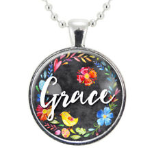 Grace Necklace, Inspirational Religious Jewelry, Spiritual Gift Ideas