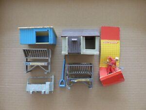 Britains Farm Buildings, Fencing, Walls Catalogues etc