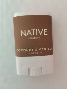 Native deodorant coconut and vanilla travel size