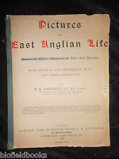SIGNED - P H Emerson - Pictures of East Anglian Life - 1888-1st, Norfolk/Suffolk