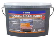 Wilckens Sockel und Dachfarbe matt Wetterbeständig schiefer 5 L